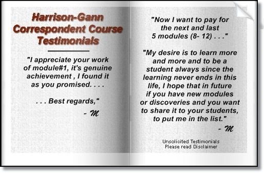Harrison-Gann Trade Secrets Course Testimonials 4