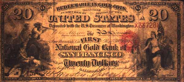 gold coin certificate