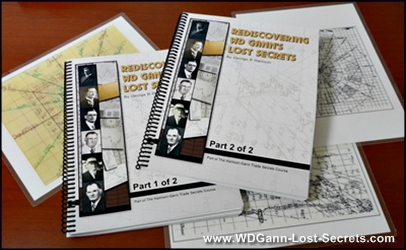 W. D. Gann Lost Secrets Books